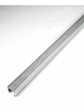 Unistrut P1000PX3A1 41x41mm Plain Oil Channel 3m, Silver, Set of 2 Pieces - Quantity Pack 1