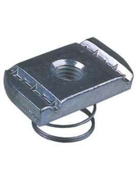 Unistrut Zinc Plated Short Channel Spring Nut M12 (PNS12ZP) - bag of 10 - Quantity Pack 25