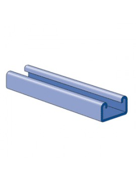Unistrut 41x21 Pre-Galvanised Channel 6m